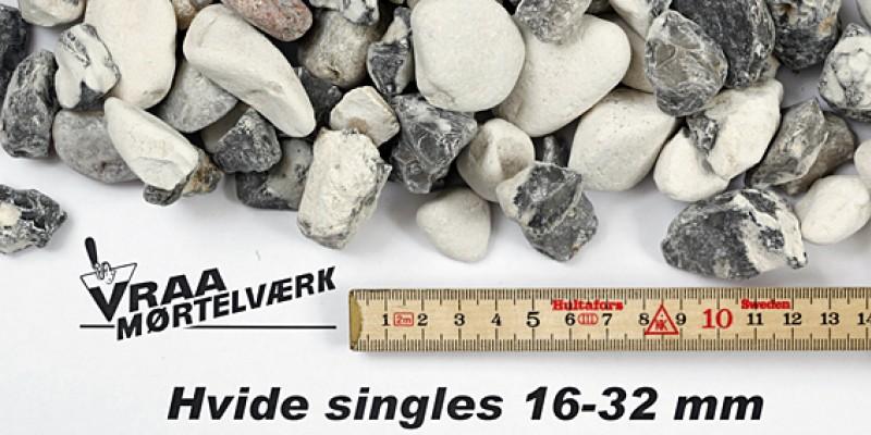 Hvide singels 16 - 32 mm
