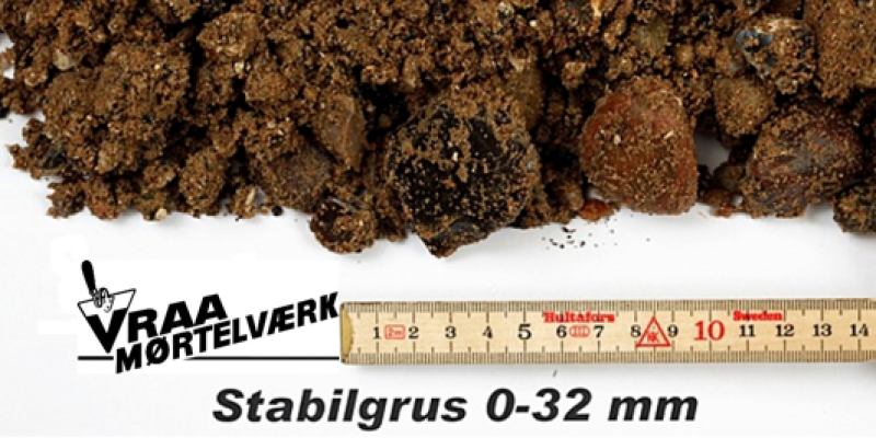 Stabilgrus 0 - 32 mm